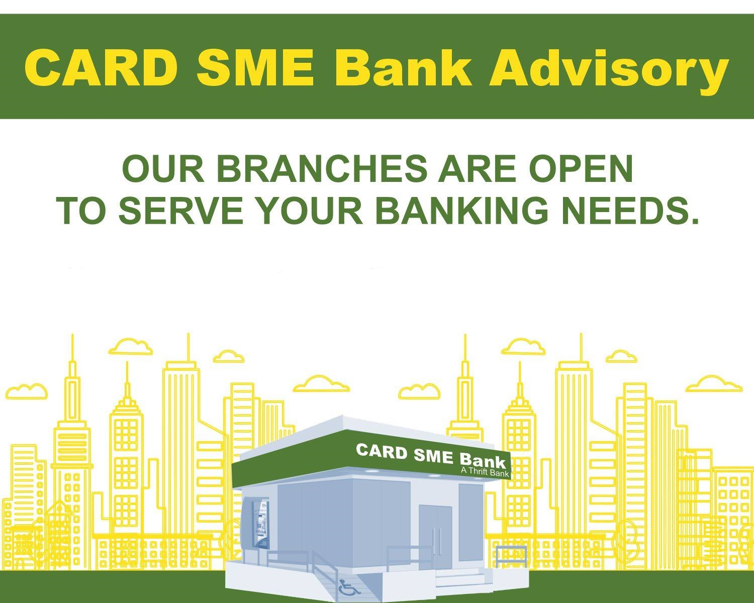 List of Branches and ATM Open